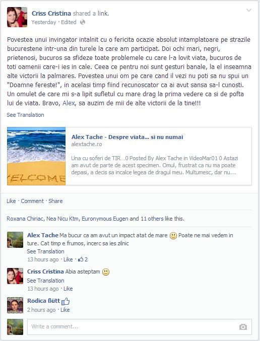 Postare facebook