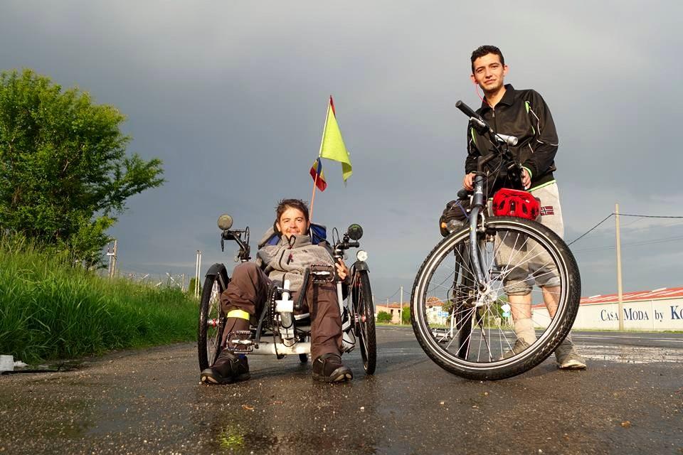 biciclete sighisoara ploaie
