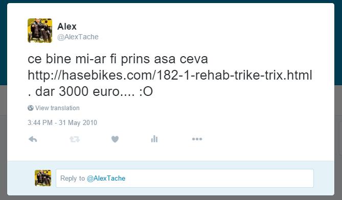 tweet trike